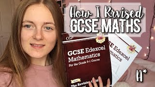 HOW I GOT A GRADE 8 & HOW I REVISED FOR MATHS GCSE & MY REGRETS  - (A*)