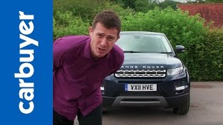 Range Rover Evoque review - CarBuyer