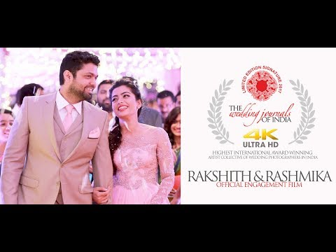 THE ONLY OFFICIAL ENGAGEMENT FILM | RAKSHIT SHETTY & RASHMIKA MANDANNA ENGAGEMENT | TWJOI