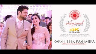 Gambar cover THE ONLY OFFICIAL ENGAGEMENT FILM | RAKSHIT SHETTY & RASHMIKA MANDANNA ENGAGEMENT | TWJOI