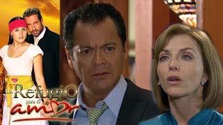 Un refugio para el amor - Capítulo 53: ¡Rosalena le dice a Maximino que Luciana es su hija!