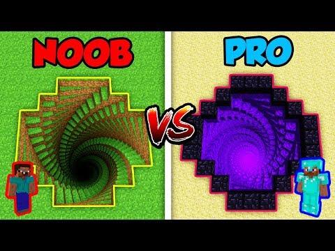 Minecraft NOOB Vs. PRO: 3D MYSTERY HOLE! | AVM Shorts Animation