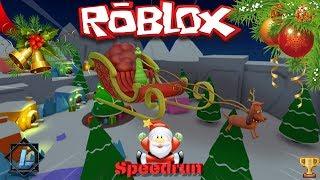 [ROBLOX) SPEEDRUN] IL GRINCH OBBY! 8:33 min.
