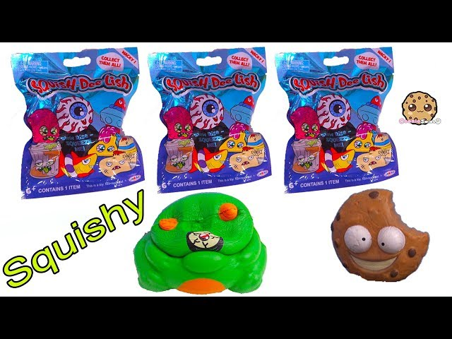 Squishy Surprise Blind Bags At Grossery Gang Yucky Mart