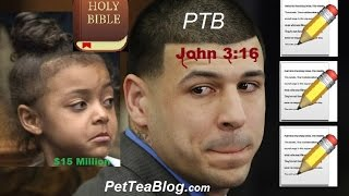 Aaron Hernandez Plot TWIST: 3 Notes Found next to Bible & Daughter will get $15 Million from #NFL