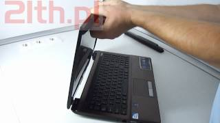 How to replace LCD in notebook Asus X53, Asus screen replacement