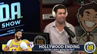The Lakers are going too far stripping their roster down for 3 players I D.A. on CBS