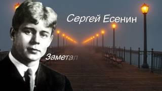 Сергей Есенин-Заметался пожар голубой