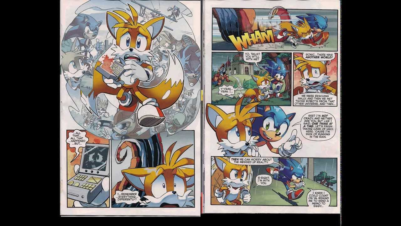 Sonic The Hedgehog Comic Book Issue #252 {2013} (Featuring Song)