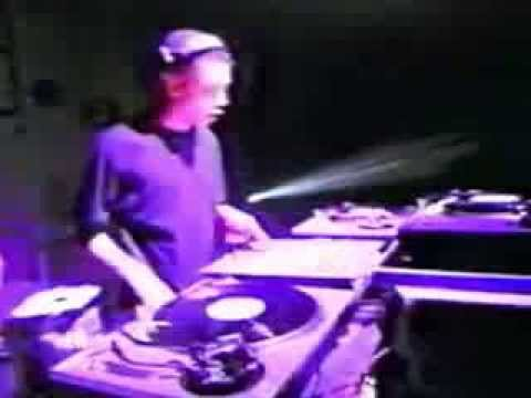 JEFF MILLS very rare live never seen before @ Liquid Room 199? (Sony TechnoTV)