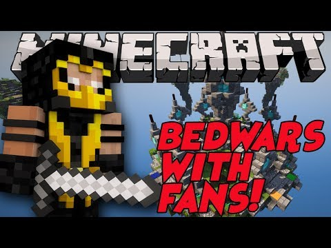 MINECRAFT BEDWARS | LIVE WITH FANS | OPEN DISCORD | COME PLAY!