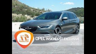 Opel Insignia ST Exclusive 2018 / Al volante / Prueba dinámica / Review / Supermotoronline.com