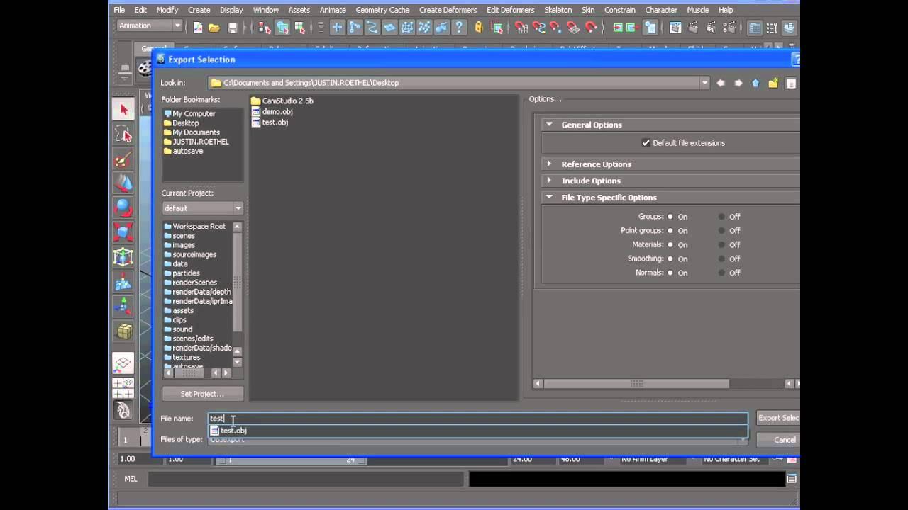 Exporting from Maya to 3d Printer