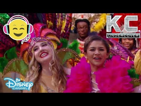K.C. Undercover   Go To Rio Song 🎤   Official Disney Channel UK