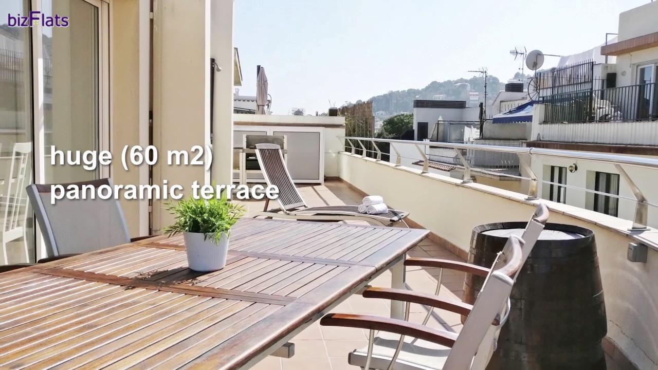 apartment in tossa de mar - mediterranean breeze - bizflats - youtube