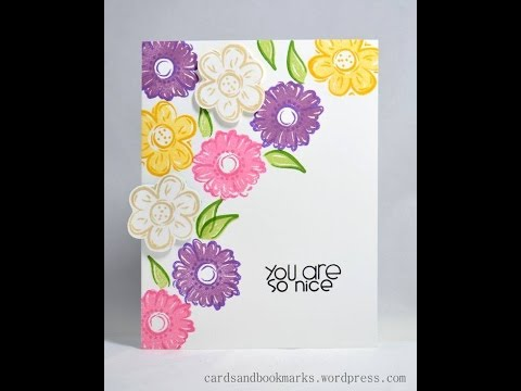 Diy greeting card how to make a simple birthday card tutorial diy greeting card how to make a simple birthday card tutorial m4hsunfo