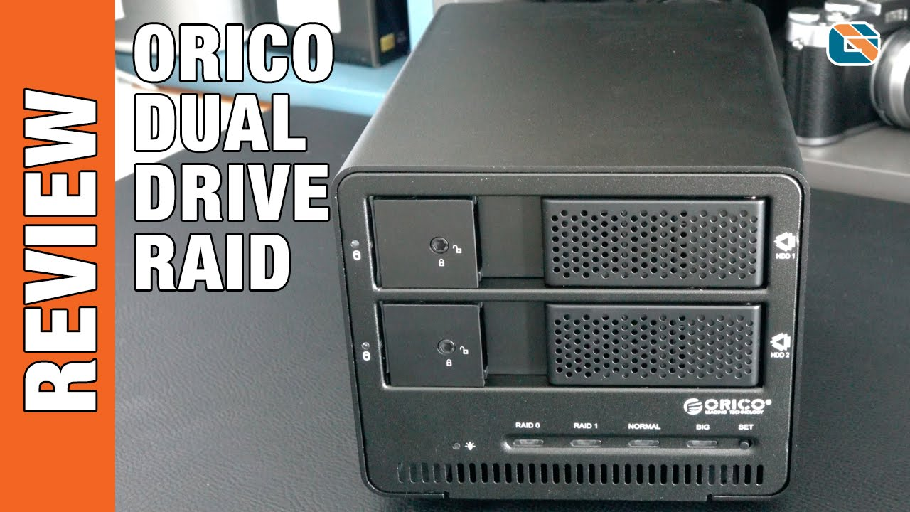 Orico Dual 35 Inch Usb 30 Raid Hard Drive Enclosure Youtube Harddisk Casing Sata