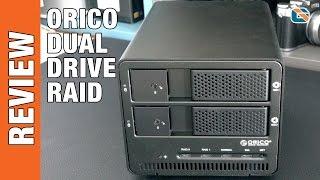 Orico Dual 3.5 inch USB 3.0 RAID Hard Drive Enclosure