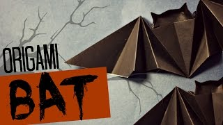 Very easy origami Bat (Tadashi Mori)