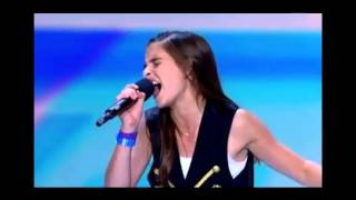 Carly Rose Sonenclar X Factor Audition - Unedited Audio - with additional coverage not on TV