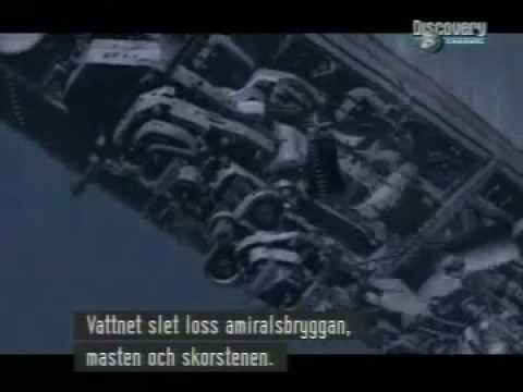 Bismarck sinking simulation