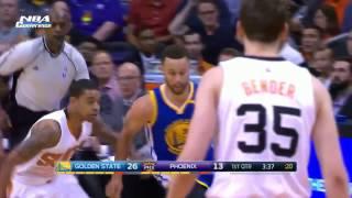 Golden State Warriors vs Phoenix Suns   Full Game Highlights  April 5, 2017  2016 17 NBA