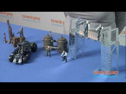 Erector Gears of War Locusts vs. Delta Squad Battle Construction Set from Meccano