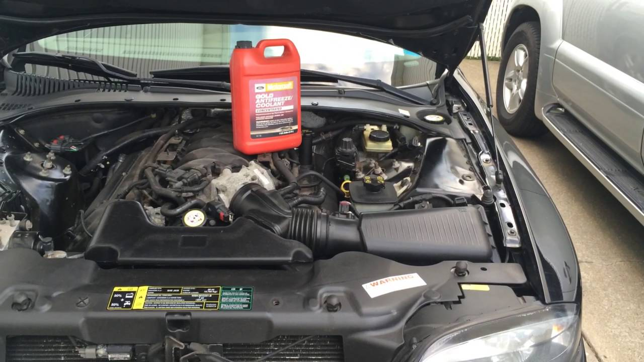 2005 Lincoln Ls V8 >> Lincoln Ls V8 Cooling System Bleed Process