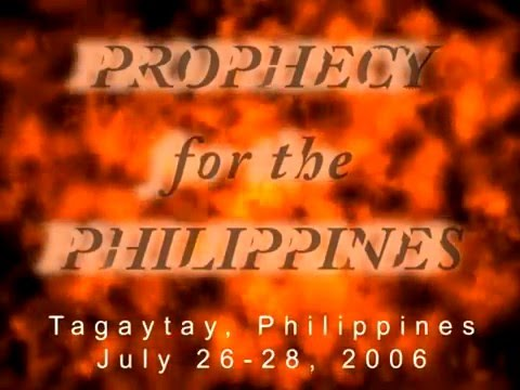 Dr. Jonathan David - Prophecy for the Philippines [Church of the Future April 2007]
