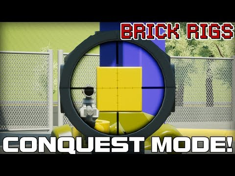 New Conquest Game Mode! (Brick Rigs #10) |