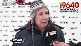 Video: Octavo Encuentro de Esculturas de Hielo en Tolhuin