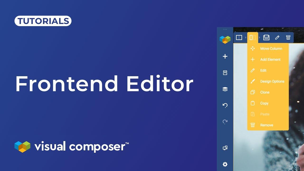 Frontend Editor - Visual Composer Website Builder