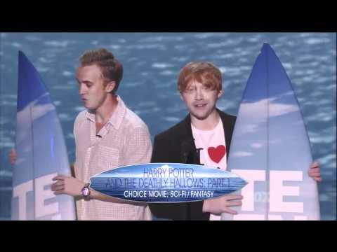 Harry Potter Special Tribute at the Ending of the 2011 Teen Choice Awards (HD 720p)