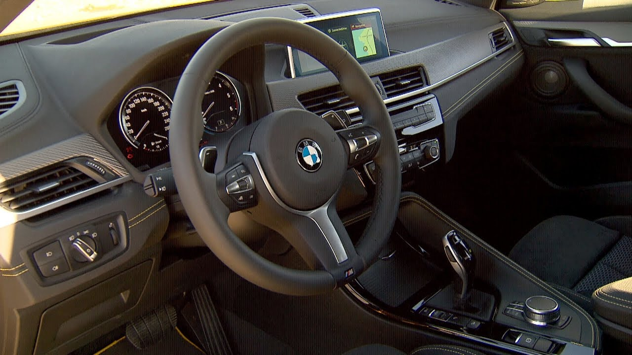 2018 bmw x2 interior youtube. Black Bedroom Furniture Sets. Home Design Ideas