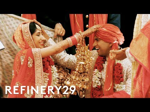 This Traditional Indian Wedding Is Insanely Beautiful | World Wide Wed | Refinery29