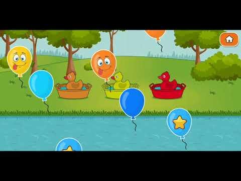 เกมส์จับคู่ภาพและสี   Picture matching game