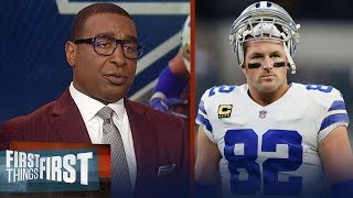 Cris Carter reacts to Jason Witten returning to the Dallas Cowboys | NFL | FIRST THING FIRST