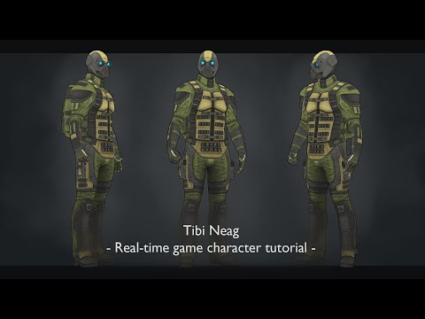 01.Zbrush Army Style Clothing Sculpting Part 1