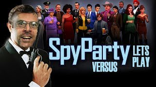 SpyParty - Let's Play Versus (Seb & Fred)