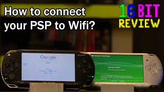 How to connect your PSP to WiFi - 16 Bit Guides