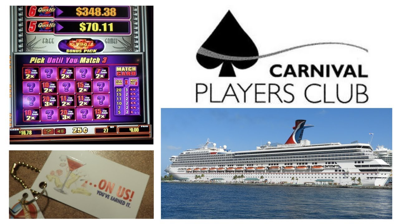 Carnival Players Club Casino Rewards Free Drinks Cruise Deals