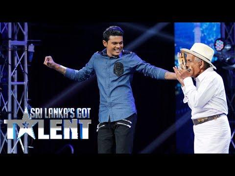 විජේසූරිය මහත්තයව දැකලා තියෙනවද?  Sri Lanka's Got Talent Audition 01