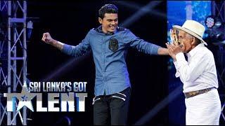 විජේසූරිය මහත්තයව දැකලා තියෙනවද?  Sri Lanka's Got Talent Audition 01 Thumbnail