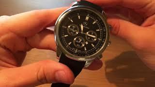Обзор часов Mercedes Benz