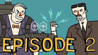 Super Science Friends Episode 2: Electric Boogaloo | Tesla vs. Edison | Animation