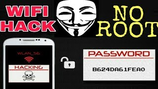 Hack any Wi-Fi form android device without root 1000% working