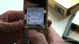 Nokia 8800 Sirocco gold Versace Edition - Unboxing [HD]