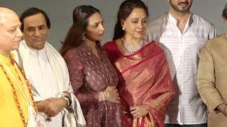 Esha Deol spotted flaunting her BABY BUMP at mom Hema Malini