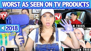 Worst As Seen on TV Products - Vivian Tries Rewind 2018 Part 2