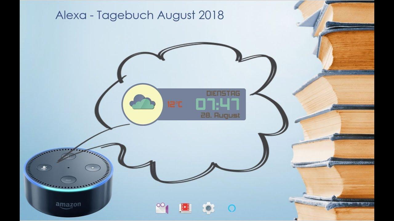 Alexa Tagebuch Vom 26 Bis 28 August
